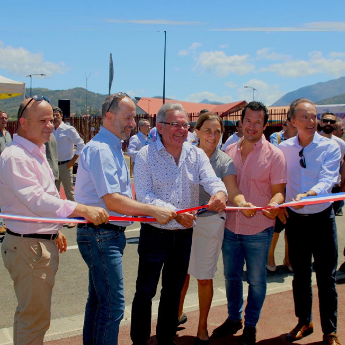 Inauguration du réseau Tanéo