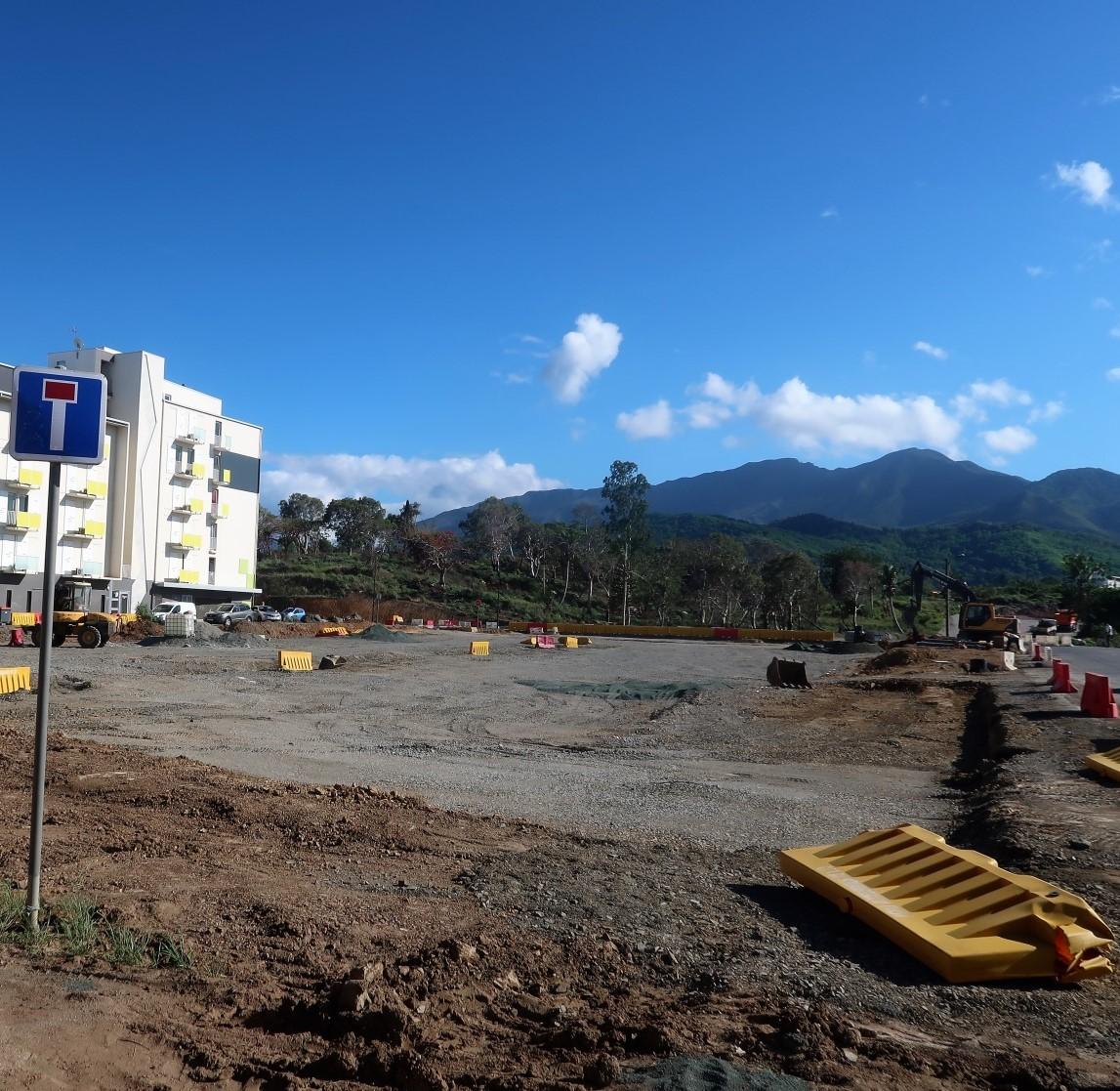 Parking Dumbéa centre