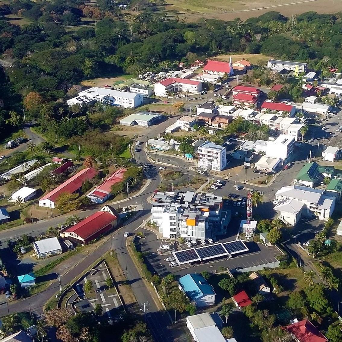 Vue aérienne de Koohnê